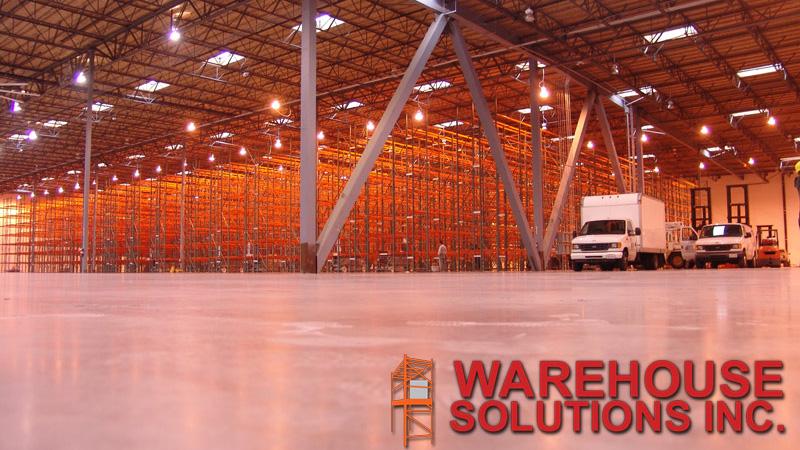 site survey layout design warehouse solutions inc